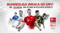 Piłka nożna w Europie powoli wraca do żywych. Jako pierwsza z czołowych lig na Starym Kontynencie rozgrywki wznowi niemiecka Bundesliga. Mecze odbędą się bez kibiców, z zachowaniem wszystkich restrykcji wyznaczonych przez tamtejszy rząd. Na antenach Eleven Sports i Canal+ Sport […]