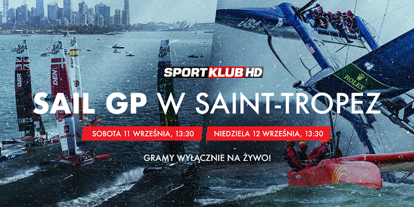 W ten weekend u wybrzeży Saint-Tropez rozegrana zostanie piąta runda SailGP. Rywalizację pokaże Sportklub. Na czele klasyfikacji generalnej znajdują się Australijczycy, którzy po zwycięstwie w Plymouth dołożyli też triumf w Aarhus. Na drugim miejscu są Brytyjczycy, tracący do rywali z […]
